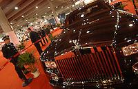Rolls Royce Phantom at the Guangzhou luxury goods fair in China. .16 Dec 2006