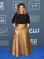 SANTA MONICA, USA. January 12, 2020: Caroline Aaron at the 25th Annual Critics' Choice Awards at the Barker Hangar, Santa Monica.<br /> Picture: Paul Smith/Featureflash