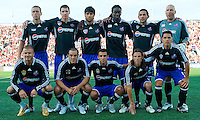 The starting eleven for the MLS All Stars at BMO Field on July 24, 2008. The final score was 3-2 for the MLS All Stars.