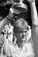 1984, Hilversum, Dutch Open, Melkhuisje, Anders Jarryd wint
