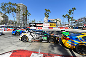 2017 IMSA WeatherTech SportsCar Championship<br /> BUBBA burger Sports Car Grand Prix at Long Beach<br /> Streets of Long Beach, CA USA<br /> Saturday 8 April 2017<br /> 86, Acura, Acura NSX, GTD, Oswaldo Negri Jr., Jeff Segal<br /> World Copyright: Richard Dole/LAT Images<br /> ref: Digital Image RD_LB17_339