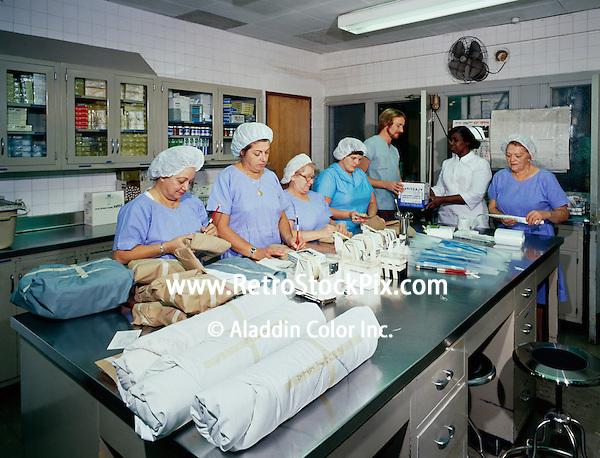 Pelham Bay General Hospital, Aids running tests