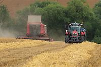 20-7-2021 Harvesting Winter barley in Rutland<br /> ©Tim Scrivener Photographer 07850 303986<br />      ....Covering Agriculture In The UK....
