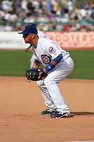 Jake Fox  - Chicago Cubs 2009 spring training.Photo by:  Bill Mitchell/Four Seam Images