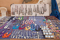 Cuba, Trinidad.  Jewelry and Handicrafts, Souvenir Market for Tourists.