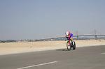 Matteo Badilatti (SUI) Groupama-FDJ during Stage 2 of the 2021 UAE Tour an individual time trial running 13km around  Al Hudayriyat Island, Abu Dhabi, UAE. 22nd February 2021.  <br /> Picture: Eoin Clarke | Cyclefile<br /> <br /> All photos usage must carry mandatory copyright credit (© Cyclefile | Eoin Clarke)