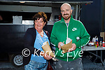 Enjoying their chips at the National Potatoe week celebrations in Cliffords Pototoe Farm in Ardfert on Saturday, l to r: Bridie and Mike Mulrennan.