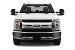 Car photography straight front view of a 2017 Ford F-250 XLT-SuperCab 4 Door Pickup Front View