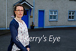 Emma O'Mahoney standing outside the Adapt Centre on Monday.