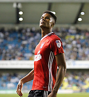 GOAL - Ipswich Town's Jordan Spence celebrates scoring during the Sky Bet Championship match between Millwall and Ipswich Town at The Den, London, England on 15 August 2017. Photo by Carlton Myrie.