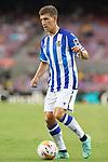 Real Sociedad's Aihen Munoz during La Liga match. August 15, 2021. (ALTERPHOTOS/Acero)