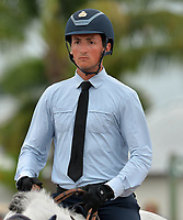 WELLINGTON, FL - APRIL 02: (EMBARGOED TILL 04/05/16)The  $130,000 SUNCAST 1.5M Classic - Round 2. The Winter Equestrian Festival (WEF) is the largest, longest running hunter/jumper equestrian event in the world held at the Palm Beach International Equestrian Center on April 2, 2016  in Wellington, Florida.<br /> <br /> <br /> People:  Lorenzo De Luca