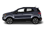 Car driver side profile view of a 2019 Ford EcoSport SES 5 Door SUV