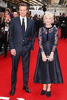 """producer, Colin Firth and Dame Helen Mirren<br /> arrives for the """"Eye in the Sky"""" premiere at the Curzon Mayfair Cinema, London<br /> <br /> <br /> ©Ash Knotek  D3105 11/04/2016"""