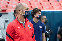 DENVER, CO - JUNE 6: Head coach Gregg Berhalter of the United States during a game between Mexico and USMNT at Mile High on June 6, 2021 in Denver, Colorado.