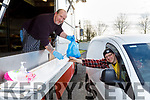 Joseph O'Carroll from Ballyduff getting his  mobile take away from Eddie Canty's Mobile Chip van in Ahabeg Lixnaw on Tuesday evening.