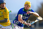 Billy Lyons, Kerry, during the Round 1 meeting of Kerry and Meath in the Joe McDonagh Cup at Austin Stack Park in Tralee on Sunday.