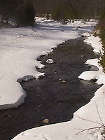 Snow covered river<br />