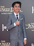 Neel Sethi attends The Disney World Premiere of The Jungle Book held at The El Captian theatre  in Hollywood, California on April 04,2016                                                                               © 2016 Hollywood Press Agency