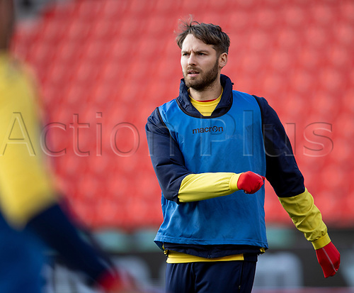 31st October 2020; Bet365 Stadium, Stoke, Staffordshire, England; English Football League Championship Football, Stoke City versus Rotherham United; Nick Powell of Stoke City