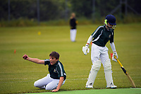 Action from the Wellington junior cricket year 7 match between Onslow Ranui and Onslow Calcutta at Ian Galloway Park in Wellington, New Zealand on Saturday, 5 December 2020. Photo: Charley Lintott / lintottphoto.co.nz
