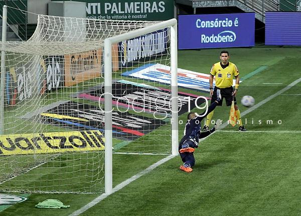 São Paulo (SP), 09/06/2021 - Palmeiras-CRB - Partida entre Palmeiras e CRB válida pela Copa do Brasil nesta quarta-feira (09) no Allianz Parque em São Paulo.