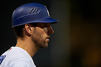 AZL Dodgers Lasorda manager Danny Dorn (17) during an Arizona League game against the AZL Athletics Green at Camelback Ranch on June 19, 2019 in Glendale, Arizona. AZL Dodgers Lasorda defeated AZL Athletics Green 9-5. (Zachary Lucy/Four Seam Images)
