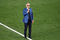 Andrea Bocelli singing at the opening ceremony of the Uefa Euro 2020 european football championships before the match between Turkey and Italy at stadio Olimpico in Rome (Italy), June 11th, 2021. Photo Andrea Staccioli / Insidefoto