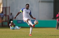 St. Vincent and the Grenadines - September 2, 2016: The U.S. Men's National team take a 3-0 first half lead over St. Vincent and the Grenadines from a PK goal by Jozy Altidore in a World Cup Qualifier (WCQ) match at Arnos Vale Stadium.