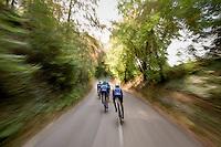 Team Orica-BikeExchange during TTT recon/practice<br /> <br /> 12th Eneco Tour 2016 (UCI World Tour)<br /> stage 5 (TTT) Sittard-Sittard (20.9km) / The Netherlands
