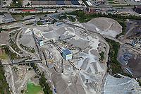 aerial photograph rock quarry Lexington, Kentucky