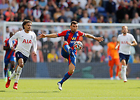 11th September 2021; Selhurst Park, Crystal Palace, London, England;  Premier League football, Crystal Palace versus Tottenham Hotspur: James McArthur of Crystal Palace controls the ball with Dele Alli of Tottenham Hotspur chasing the midfielder