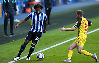 Sheffield Wednesday's Isaiah Brown takes on Watford's Tom Cleverley<br /> <br /> Photographer Alex Dodd/CameraSport<br /> <br /> The EFL Sky Bet Championship - Sheffield Wednesday v Watford - Saturday 19th September 2020 - Hillsborough Stadium - Sheffield <br /> <br /> World Copyright © 2020 CameraSport. All rights reserved. 43 Linden Ave. Countesthorpe. Leicester. England. LE8 5PG - Tel: +44 (0) 116 277 4147 - admin@camerasport.com - www.camerasport.com