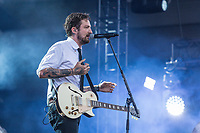 Frank Turner performs at the Festival d'ete de Quebec (Quebec Summer Festival) on July 9, 2018.
