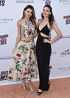 PASADENA, CA - JUNE 4:  Madison Reed and Victoria Justice at the 28th Annual Race to Erase MS Drive-In Gala at The Rose Bowl in Pasadena, Friday, June 4, 2021 (Photo by Scott Kirkland/PictureGroup)
