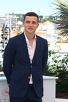 Karl Glusman attends 'The Neon Demon' Photocall durig The 69th Annual Cannes Film Festival on May 20, 2016 in Cannes