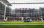 Goalkeeper Diego Alves Carreira of Valencia CF fails to save a goal by Marcelo Vieira Da Silva of Real Madrid during their La Liga match between Real Madrid and Valencia CF at the Santiago Bernabeu Stadium on 29 April 2017 in Madrid, Spain. Photo by Diego Gonzalez Souto / Power Sport Images
