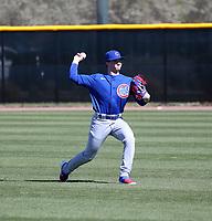 Tyler Schlaffer - Chicago Cubs 2020 spring training (Bill Mitchell)