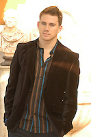 "CHANNING TATUM .Photocall for ""Stp Up"", Hotel Eden, Rome, Italy..December 15th, 2006.half length brown suit jacket.CAP/CAV.©Luca Cavallari/Capital Pictures"