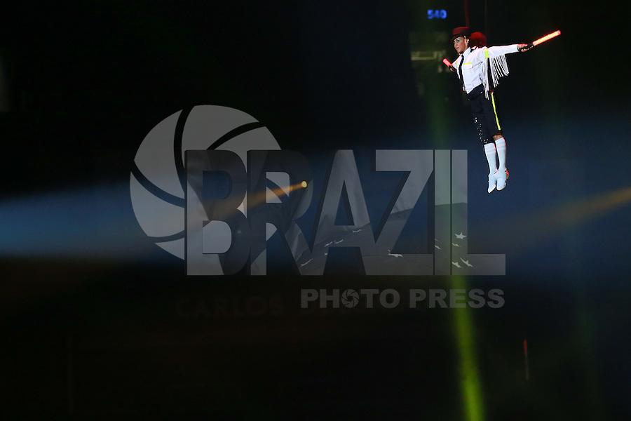 TORONTO, CANADA, 10.07.2015 - PAN2015-ABERTURA - Cerimonia de abertura dos jogos Pan-americanos no Rogers Centre em Toronto no Canadá nesta sexta-feira, 10. (Foto: William Volcov/Brazil Photo Press)