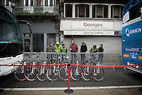 checking out the those rides<br /> <br /> 102nd Liège-Bastogne-Liège 2016