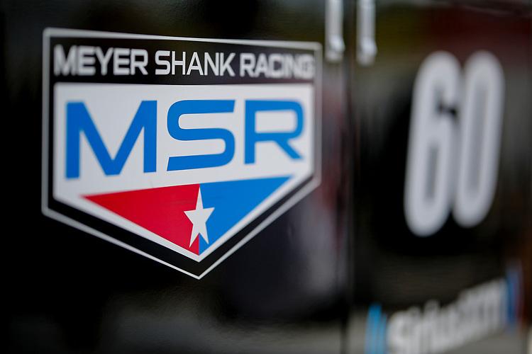 #60: Jack Harvey, Meyer Shank Racing Honda pit equipment