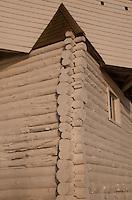Blockhouse at English Camp, San Juan Island, Washington, US