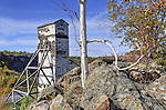 The old headframe at Giant Mine Mining
