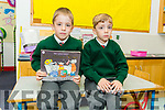 Second set of twins, Ciro and Luca Neumann in Miss O'Shea class in Firies NS.