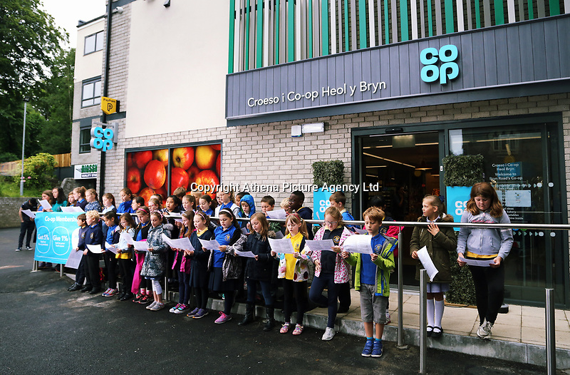 Pupils from years 3, 4, 5, and 6 from Brynmill School