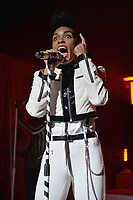 SMG_Janelle Monae_FLXX_Fillmore_112313_01.JPG<br /> <br /> MIAMI BEACH, FL - NOVEMBER 23: Janelle Monae performs during 'The Electric Tour' at Fillmore Miami Beach on November 23, 2013 in Miami Beach, Florida.  (Photo By Storms Media Group) <br /> <br /> People:  Janelle Monae<br /> <br /> Transmission Ref:  FLXX<br /> <br /> Must call if interested<br /> Michael Storms<br /> Storms Media Group Inc.<br /> 305-632-3400 - Cell<br /> 305-513-5783 - Fax<br /> MikeStorm@aol.com<br /> www.StormsMediaGroup.com