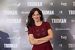 Silvia Abascal poses at `Truman´ film presentation in Madrid, Spain. October 26, 2015. (ALTERPHOTOS/Victor Blanco)