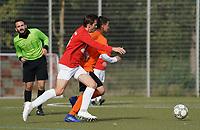 Jacob Philipp Schmitt (TV Haßloch) gegen Muhammet Is (Biebesheim) - Rüsselsheim 27.09.2020: TV Haßloch vs. Olympia Biebesheim II, B-Liga