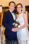 Sharon O'Leary daughter of Moira and Patrick O'Leary, Kenmare. Dan Lucey son of Sean and Eileen Lucey, Co. Cork, who were married on 28th Dec 2019 at 1.30pm by Fr. Ted Sheahan in Holy Cross Church Kenmare Best man was Denis Buckley, groomsman was Sean O'Leary. Maid Of Honour was Regina Comber and Bridesmaid was Laura O'Dea. Fowergirl was Cate Comber. The reception was held in the Kenmare Bay Hotel and the couple will reside in Kenmare.